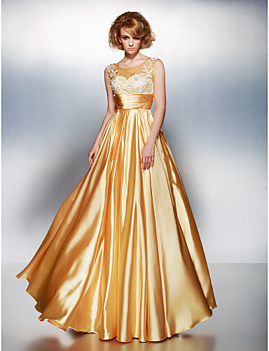 TS Couture® Formal Evening Dress Plus Size / Petite A-line Scoop ...
