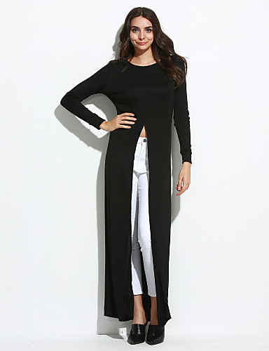 Women's Going out / Casual/Daily Sexy Swing DressSolid ...