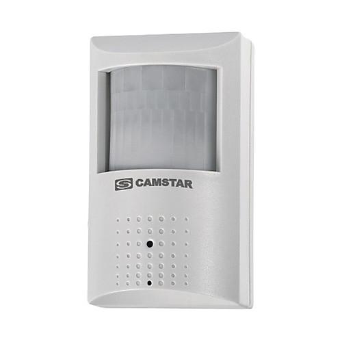 1 / 4 дюйма резкое Color CCD детектор дыма проводной камеры (камера пир) со звуком Lightinthebox 1288.000