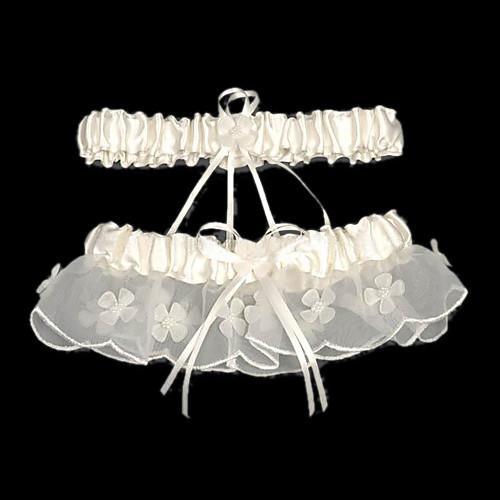 2-х частей атласа с вышивкой бисером подвязки свадьбы Lightinthebox 270.000