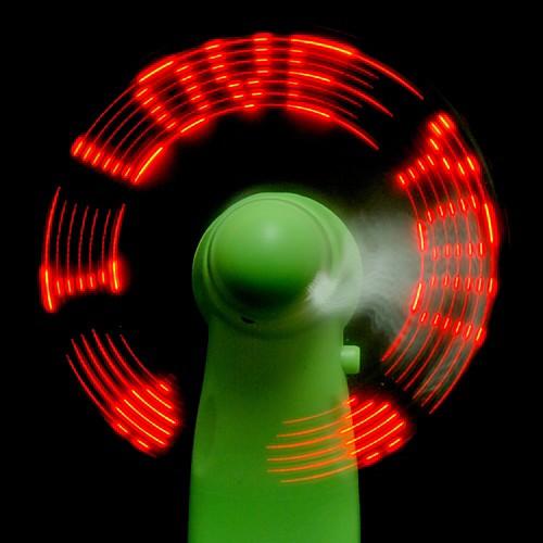 Вентилятор со светодиодным воздушным сообщением Lightinthebox 128.000