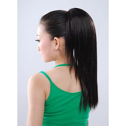 синтетические парики - дополнительный длинный черный хвост прямой (jf1154) Lightinthebox 858.000