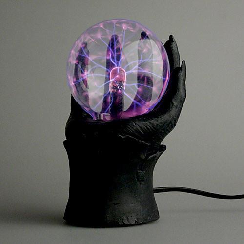 Плазма-шар в черной руке (220V AC) Lightinthebox 730.000