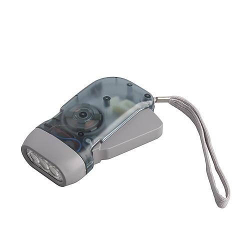 Безбатарейный фонарик с 3 светодиодами Lightinthebox 128.000