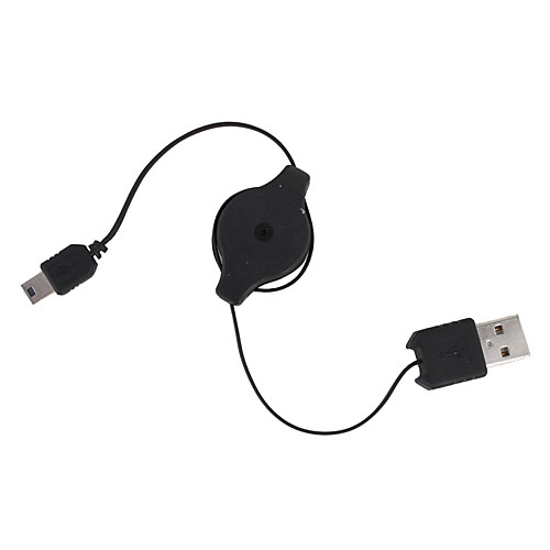 Выдвижной USB к мини-USB кабель для передачи данных (0,75 м) Lightinthebox 128.000