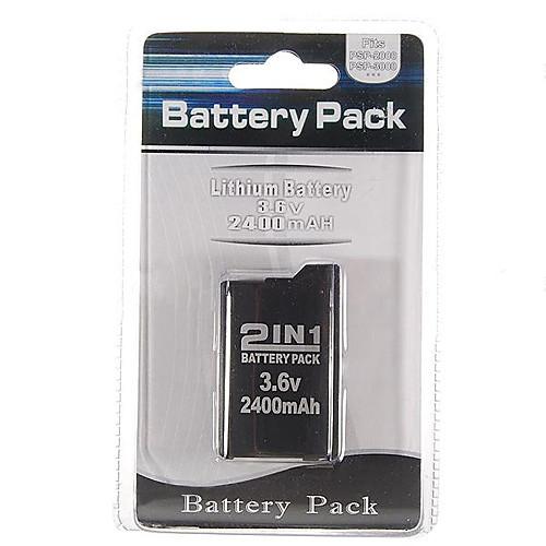 аккумулятор для Sony PSP 2000/3000 (2400mAh) Lightinthebox 214.000