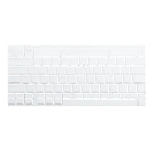 силиконовая клавиатура защитный чехол для Apple MacBook Pro (прозрачный белый) Lightinthebox 85.000