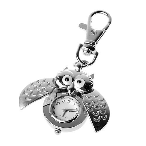 серебряная панель открыта сова брелок часы Lightinthebox 149.000