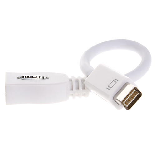 Адаптер с мини DVI Male на HDMI Female (1080p) Lightinthebox 343.000
