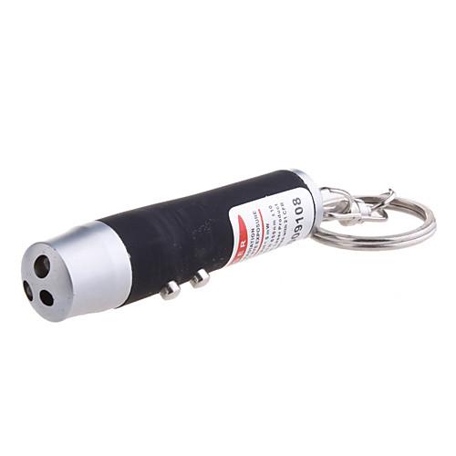Брелок с красным лазерным лучом, белой подстветкой и ультрафиолетовым светом (3LR44, разные цвета) Lightinthebox 171.000