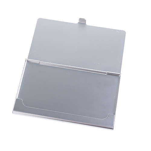 кратким алюминиевый бизнес держателя карты (серебро) Lightinthebox 85.000