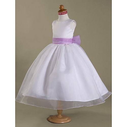 STACEY - Платье для девочек из органзы и атласа Lightinthebox 3437.000