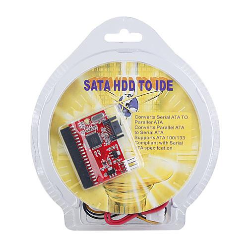 SATA HDD до 40-контактный IDE Master / Slave с адаптером питания кабель 0.18m Lightinthebox 171.000