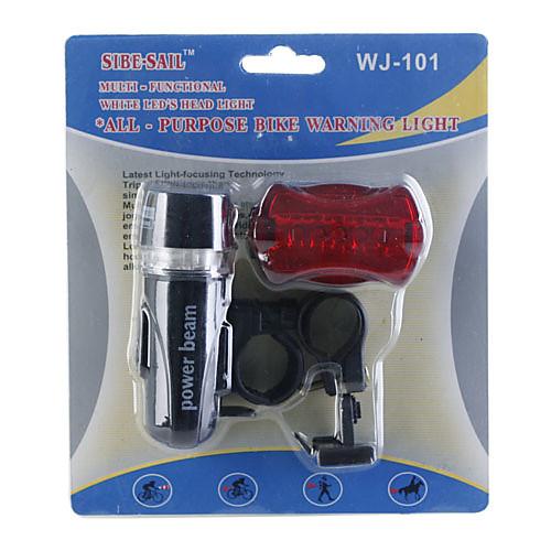 Набор 5-LED фонарик и задний фонарь для велосипеда Lightinthebox 214.000