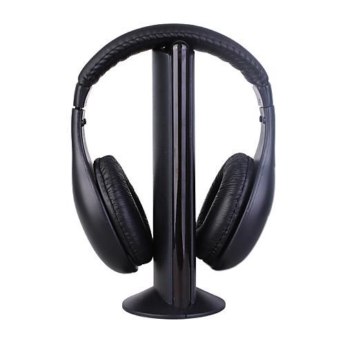 Наушники 5 в 1, беспроводная гарнитура, MH2001 Hi-Fi подходит для FM радио MP3 PC TV Lightinthebox 515.000