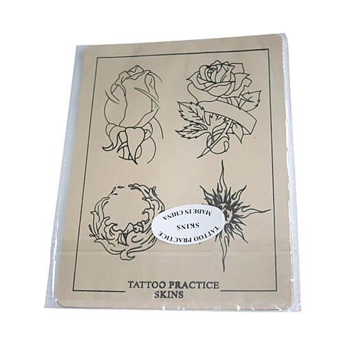 татуировки кожи практики с цветочным очертания Lightinthebox 214.000