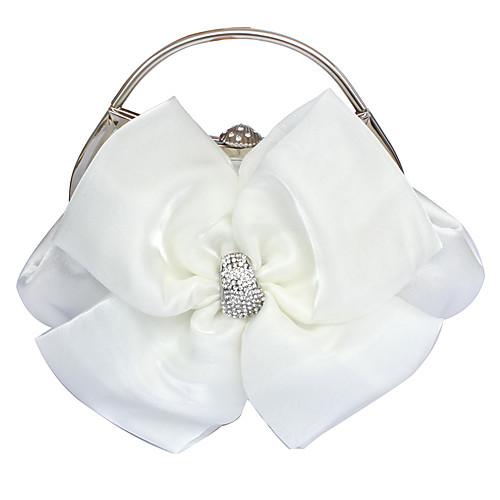 великолепные атласные вечерние сумочки / верхом обрабатывать большее количество цветов