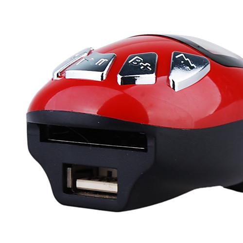 Красный цвет автомобиля mp3-плеер с FM-передатчиком Lightinthebox 343.000