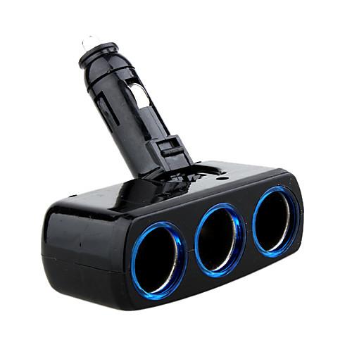 тройным способом портативных сигарету автомобильного прикуривателя сплиттера зарядное гнездо - 12 LP-817 (szc2358) Lightinthebox 257.000