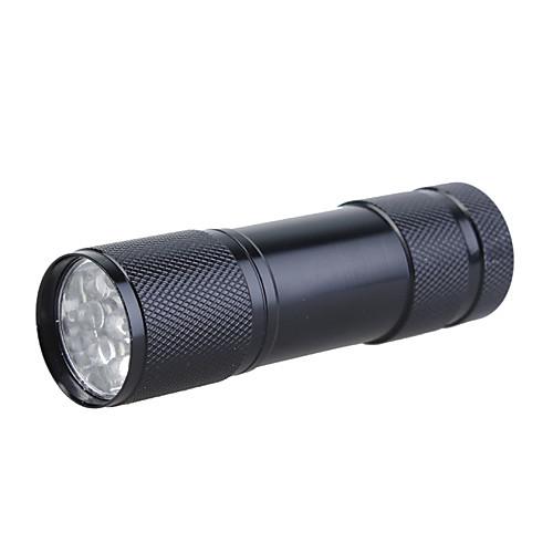 Маленький 9 LED фонарик в аллюминиевом корпусе, 3x10440/3xAAA, разные цвета Lightinthebox 128.000