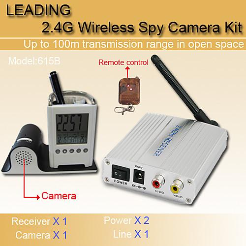 люкс 1,2 ГГц беспроводной безопасности CCTV CMOS цветная видеокамера и AV-ресивер Lightinthebox 1116.000