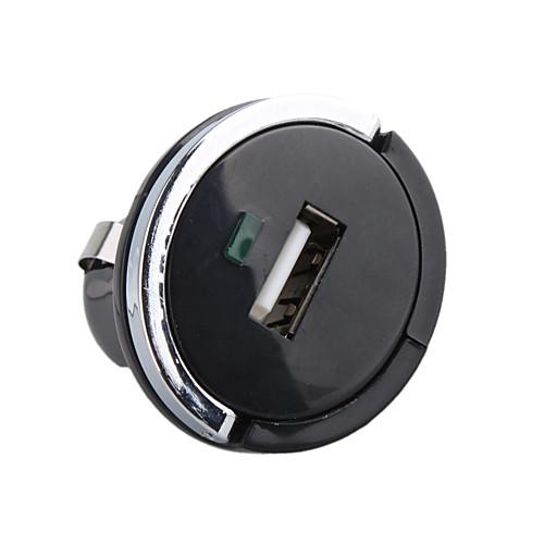 1000ma сигареты автомобиля питанием USB-адаптер / зарядное устройство (DC 12V / 24V) на мобильный 6 iPhone 6 плюс Lightinthebox 171.000