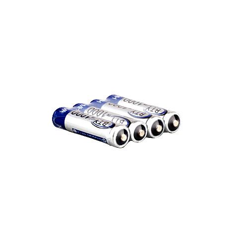 4 х ААА 1000mAh Ni-MH BTY 2500 аккумуляторы (БЮТ (1000)) Lightinthebox 214.000