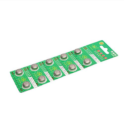 СГ13 1,55 кнопку батареи (10 штук) Lightinthebox 257.000