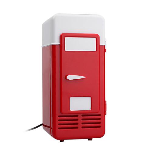 USB супер холодильник мини - холодильник - охладитель напитков напитков - держать напитки холодно на вашем столе (smq5639) Lightinthebox 601.000