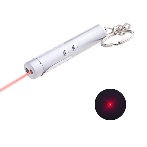 Брелок с мощными фонариком и лазерной указкой (3xAG13) Lightinthebox 85.000