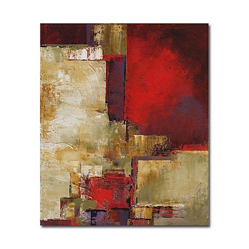 ручная роспись абстрактной живописи маслом с растянутыми кадра Lightinthebox 2878.000