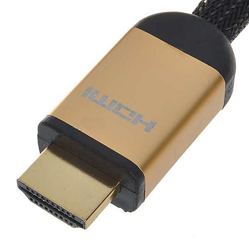 бесплатно Кабель HDMI (1,5 м)  3м 10 футов v1.4 1080p 3d 4k High Speed HDMI кабель с / ферритовые сердечники - черный Lightinthebox 773.000