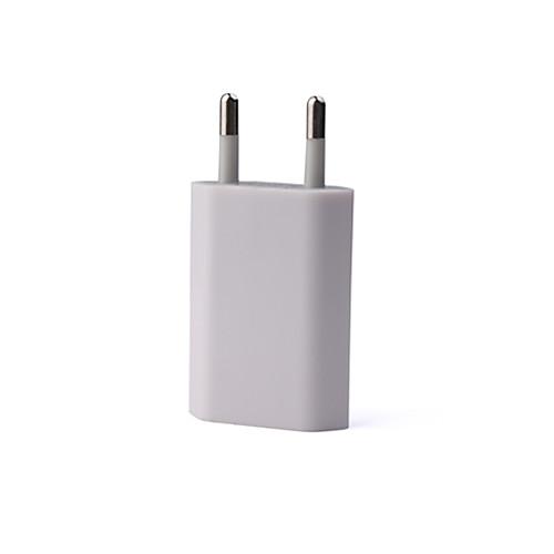 дома стены USB зарядное устройство AC адаптер для Apple Ipod / Iphone, ЕС Plug Lightinthebox 126.000