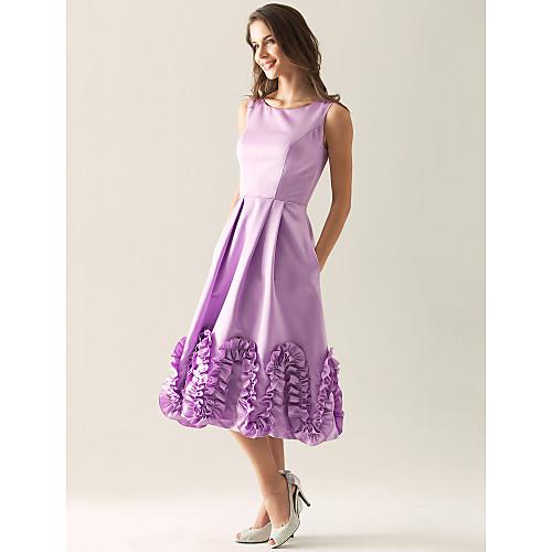 URSA - Платье для свидетельницы из атласа Lightinthebox 2552.000