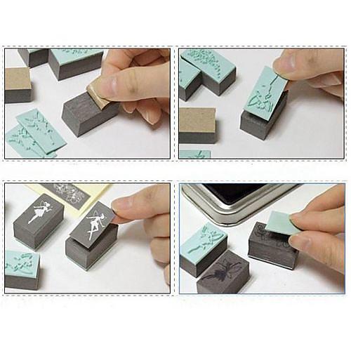 феи DIY ремесла печать комплекта - синими чернилами Lightinthebox 183.000