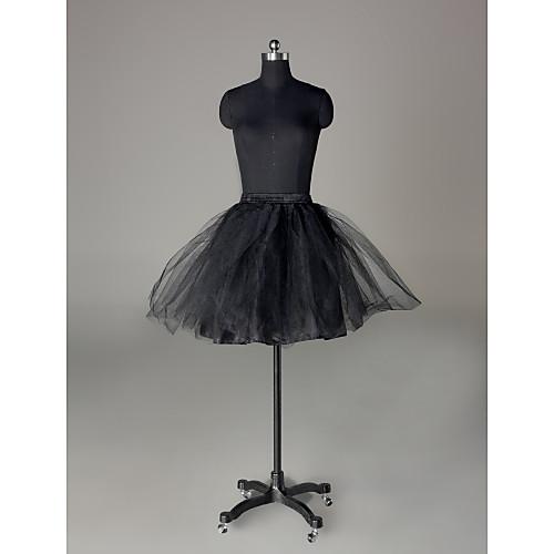 нейлон / чистых коротких / мини-юбки свадьбы (0061-22) Lightinthebox 858.000