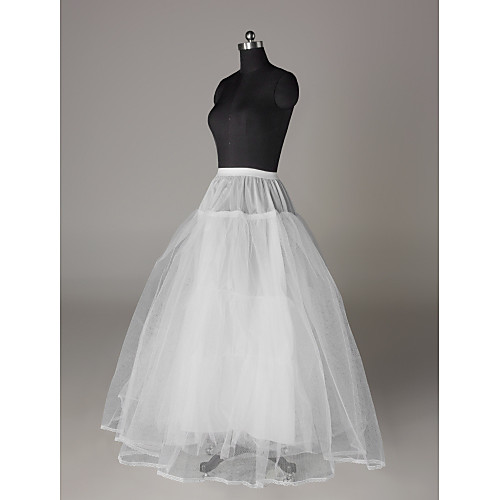 нейлон полный платье бальное платье 3 уровня пола длина скольжения стиль / свадебные юбки Lightinthebox 644.000