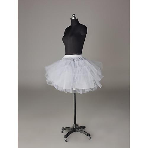нейлон / чистых коротких / мини-юбки свадьбы (0061-11) Lightinthebox 644.000