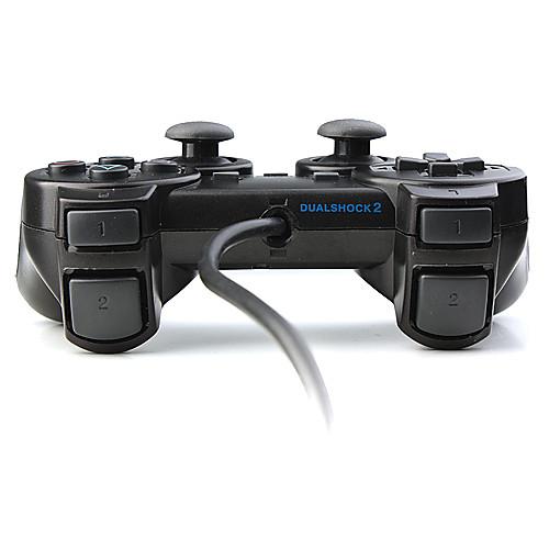 двойная панель управления шок для PS2 (черный) Lightinthebox 429.000