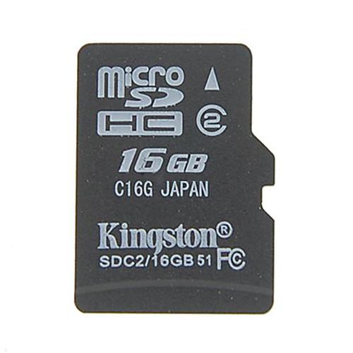 Kingston 16GB Micro SD / TF карты памяти SDHC Lightinthebox 343.000