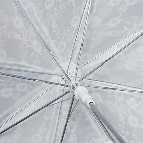белые кружева автоматического открытия свадьбы зонтик (0636-5) Lightinthebox 644.000
