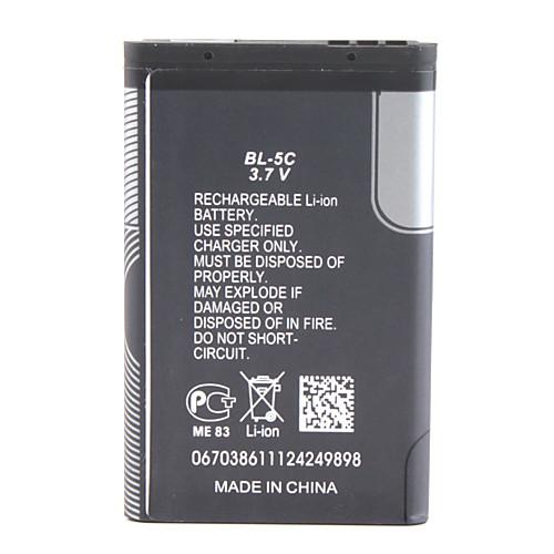 Сменный аккумулятор BL-5C для Nokia 1100/1108/1110 и пр. (1020 мАч) Lightinthebox 126.000