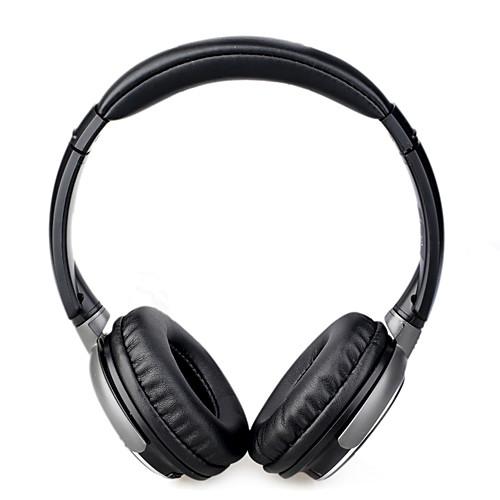 Стерео-наушники со встроенным MP3 плеером и FM радио (черные) Lightinthebox 816.000