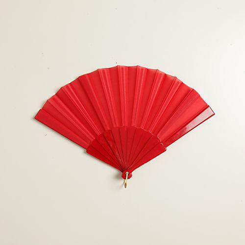 красный шелк стороны вентилятора (набор из 6) Lightinthebox 300.000