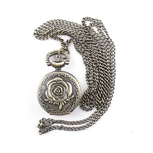 античный кварца розы малых карманные часы колье цепочки Lightinthebox 300.000