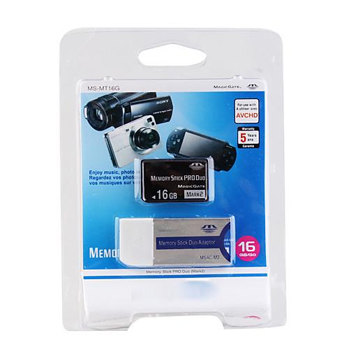 16gb Memory Stick PRO Duo карта памяти и адаптер Lightinthebox 558.000