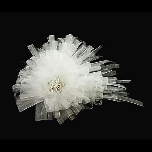 великолепный атлас с головной убор свадебный стразами Lightinthebox 77.000
