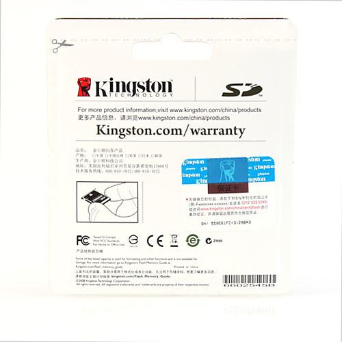 2GB Kingston SD карты памяти Lightinthebox 171.000