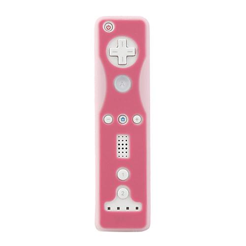 защитный силиконовый чехол / кожи для Nintendo Wii / Wii U отдаленных и Nunchuk / розовый (bcm033) Lightinthebox 85.000