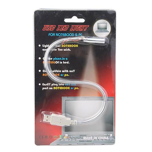 гибкий USB LED ноутбук / ноутбук света (серебро) Lightinthebox 85.000